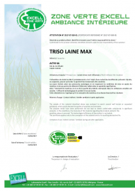 TRISO-LAINE MAX - Zone verte EXCELL